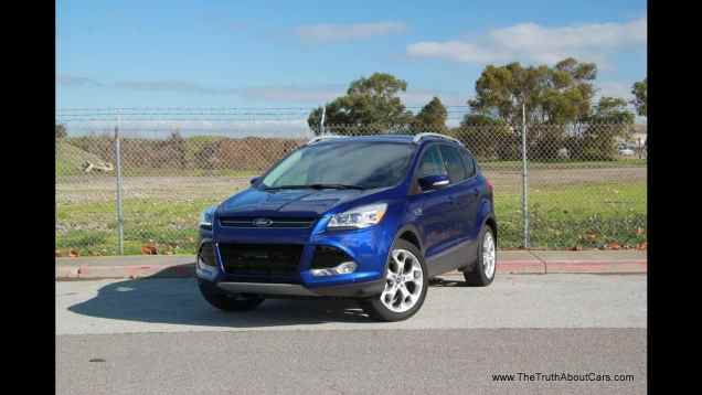 2013 Ford Escape Titanium 2.0L Ecoboost Drive Review and Road Test
