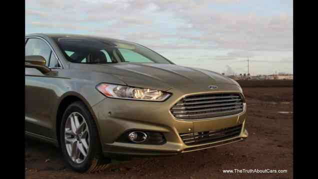2013 Ford Fusion SE 1.6 Ecoboost Drive Review & Road Test