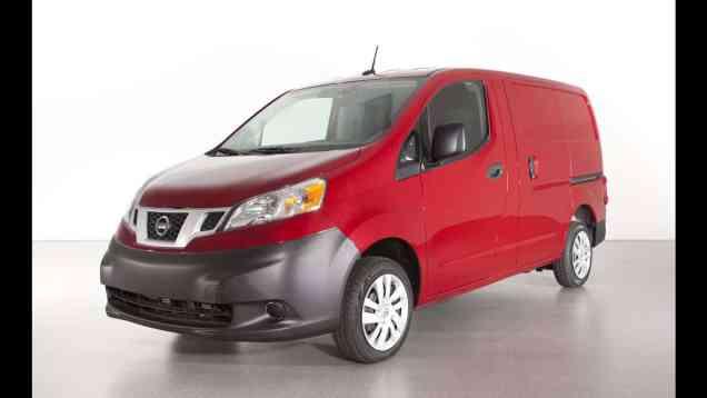 2013 Nissan NV200 Compact Cargo Van Review