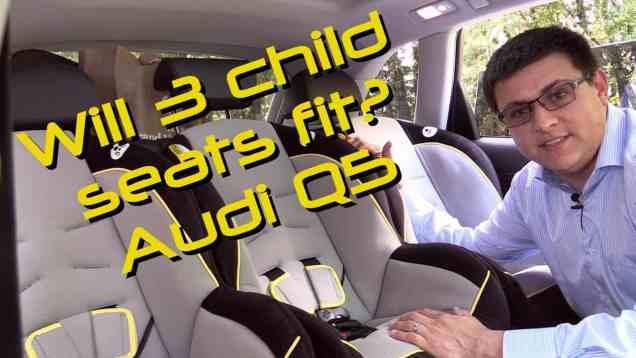 2014 / 2015 Audi Q5 Child Seat Review
