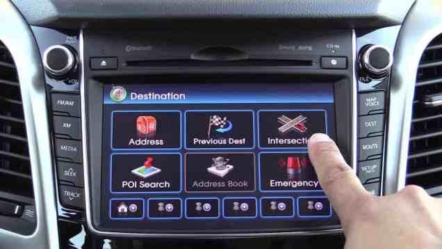 2014 / 2015 Hyundai Elantra GT Infotainment Review