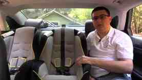 2014 / 2015 Lincoln MKZ Child Seat Review