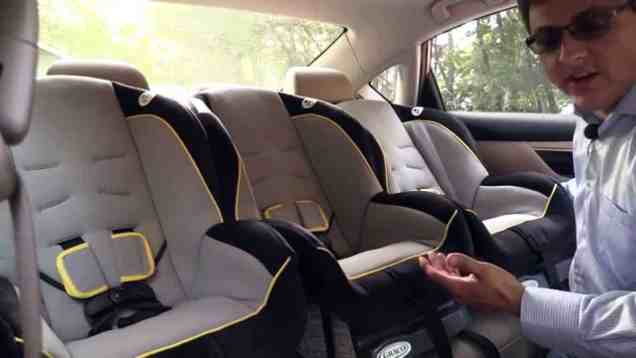 2014 / 2015 Nissan Altima Child Seat Review