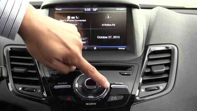 2014 Ford Fiesta MyFord Touch Infotainment Review
