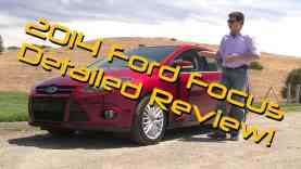 2014 Ford Focus Titanium Sedan Detailed Review and Road Test
