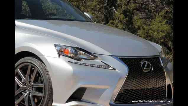 2014 Lexus IS Review and Track Test (IS 250, IS 350 and F-Sport models)
