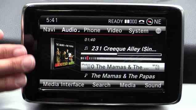 2014 Mercedes Benz CLA COMAND Infotainment Review