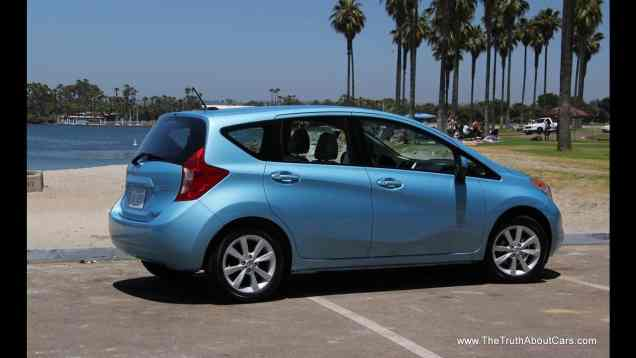2014 Nissan Versa Note Hatchback Review and Road Test