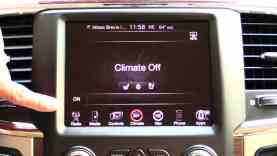 2014 RAM 1500 Eco Diesel uConnect Review (Infotainment Review)