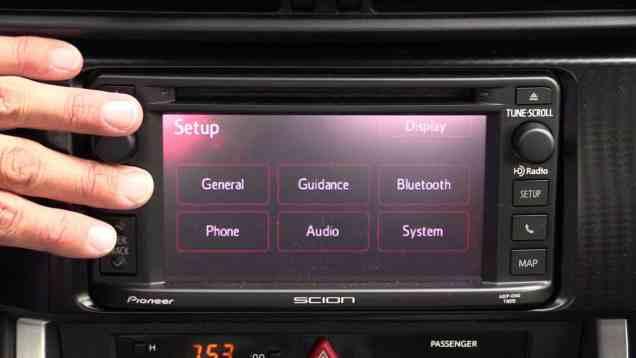 2014 Scion Touchscreen Audio Infotainment Review