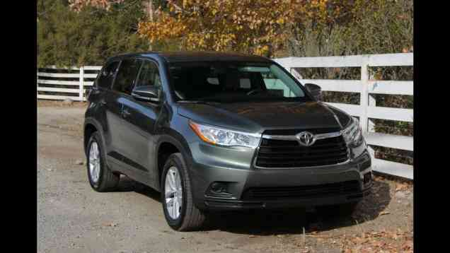 2014 Toyota Highlander First Drive Review and Road Test