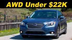2015 / 2016 Subaru Legacy 2.5i Premium Review