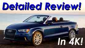 2015 Audi A3 Cabriolet (Convertible) DETAILED Review – In 4K