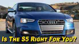 2015 Audi A5 / S5 / RS5 Review