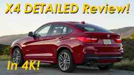 2015 BMW X4 xDrive28i DETAILED Review and Road Test – in 4K!