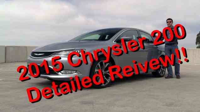 2015 Chrysler 200 C Detailed Review and Road Test