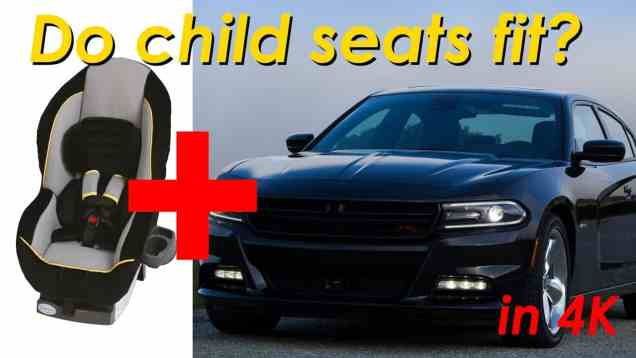 2015 Dodge Charger / Chrysler 300 Child Seat Review