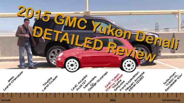 2015 GMC Yukon Denali and Chevy Tahoe Detailed Review