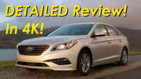 2015 Hyundai Sonata Eco DETAILED Review and Road Test – In 4K