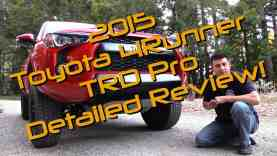 2015 Toyota 4Runner TRD Pro Detailed Review and Road Test