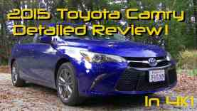 2015 Toyota Camry Detailed Review and Road Test – Hybrid SE in 4K
