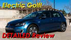 2015 Volkswagen eGolf EV Detailed Review and Road Test   In 4K!