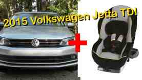 2015 Volkswagen Jetta Child Seat Review – in 4K