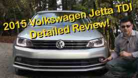 2015 Volkswagen Jetta TDI Detailed Review and Road Test   in 4K