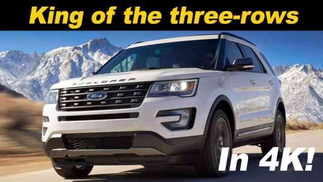 2016 / 2017 Ford Explorer Review