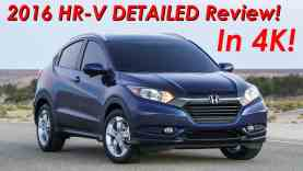 2016 Honda HR-V DETAILED Review and Road Test – In 4K!