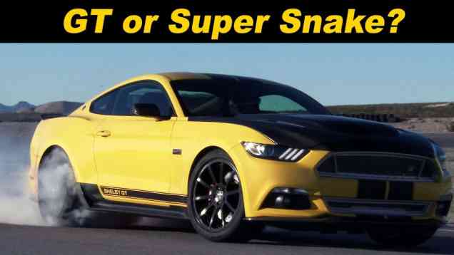2016 Shelby GT and 2016 Shelby Super Snake Review