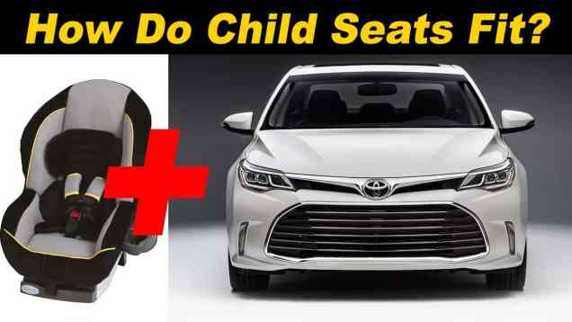 2016 Toyota Avalon Child Seat Review