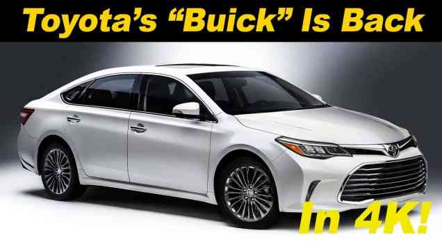 2016 Toyota Avalon Hybrid Review