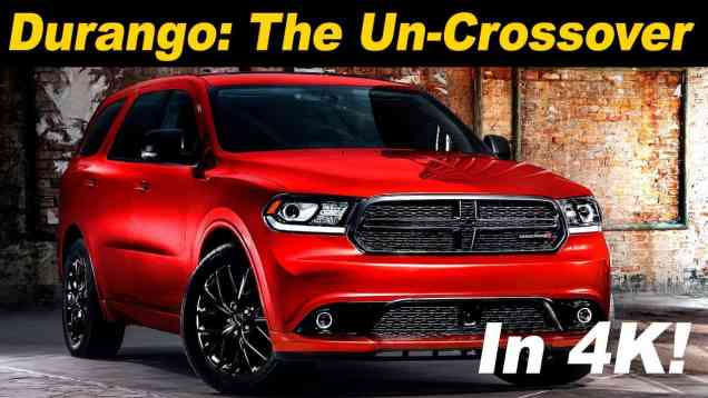 2017 Dodge Durango Review