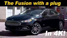2017 Ford Fusion Hybrid & Energi Review