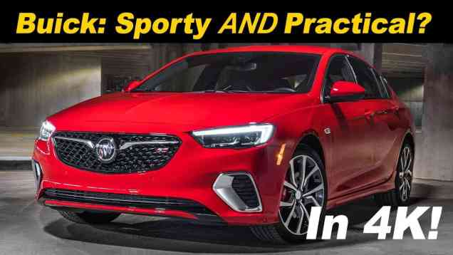2018 / 2019 Buick Regal GS Sportback Review