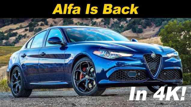2018 Alfa Romeo Giulia Review