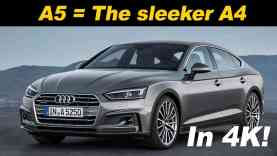 2018 Audi A5 Sportback Review and Comparison