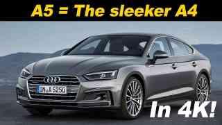 2018 Audi A5 Sportback Review and Comparison