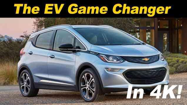 2018 Chevrolet Bolt Review