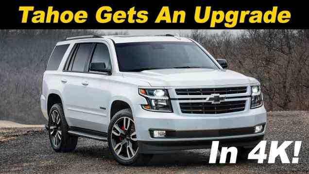 2018 Chevrolet Tahoe RST 6.2L First Drive Review