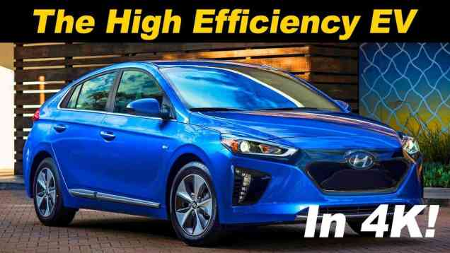 2018 Hyundai Ioniq EV Review