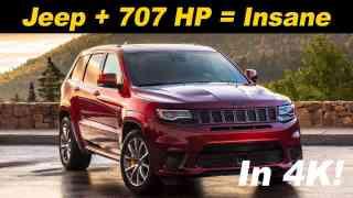 2018 Jeep Grand Cherokee Trackhawk First Drive