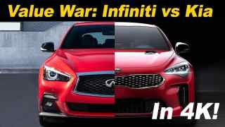 2018 Kia Stinger GT vs 2018 Infiniti Q50 3.0t Sport | Comparison Review