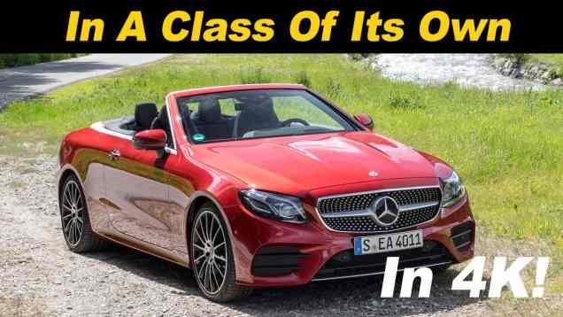 2018 Mercedes Benz E400 Cabriolet Review