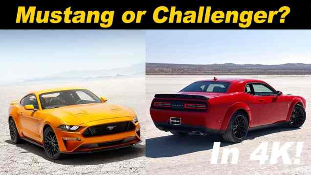 2018 Mustang or 2018 Challenger? Which is the right one for you?
