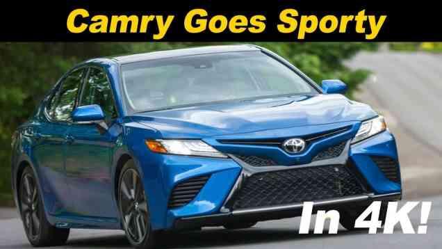 2018 Toyota Camry V6 Review
