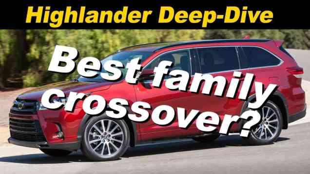 2018 Toyota Highlander SE Review