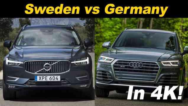 2018 Volvo XC60 T8 vs Audi SQ5