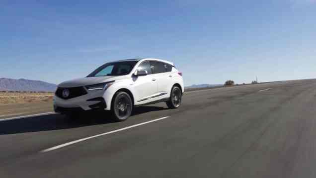 2019 Acura RDX First Look